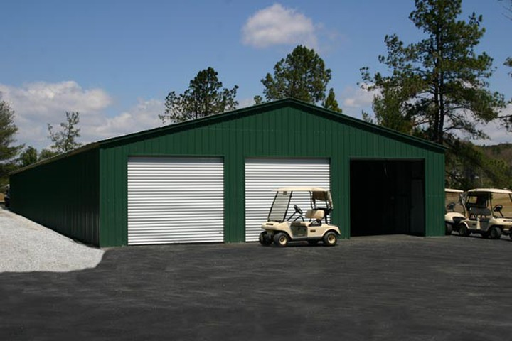 Commercial Metal Garages : Commercial metal buildings auto repair garage workshop