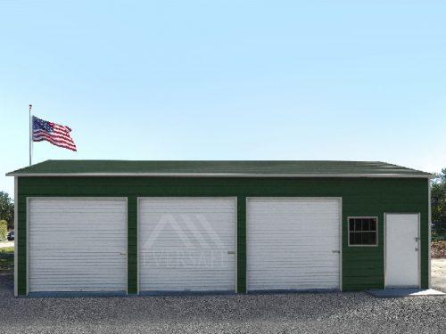 24x35 Florida Metal Garage Building