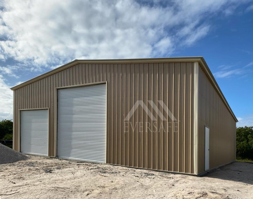 40x60 Steel Workshop Building Prefab Garages Florida Certified Prices