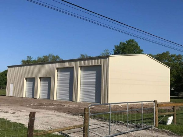 60x80 Steel Building Garage