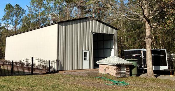 Metal garage 4