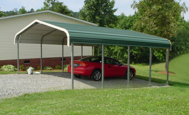 Portable Steel Car Ports : Metal carports steel carport kits car ports portable