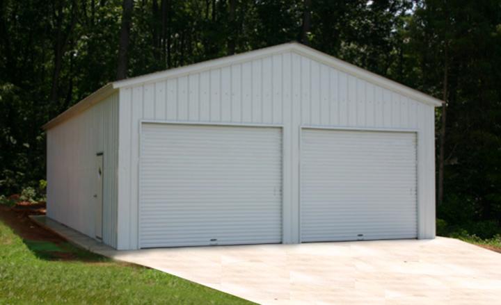 Prefab steel garages metal buildings and garage buildings for 7 car garage