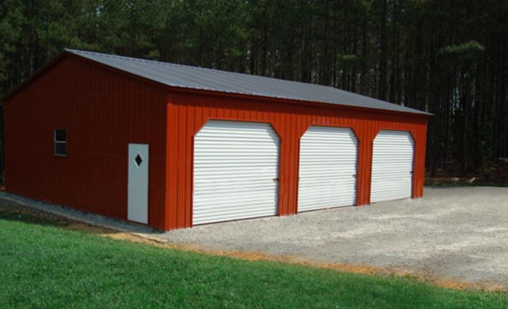 Design your prefab garage. 3 Car Garage Buildings from Eversafe