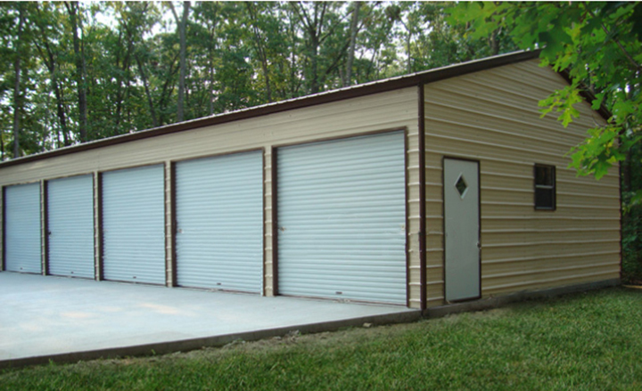 Prefab steel garages metal buildings and garage buildings for Carports and garages