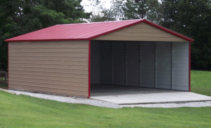 Metal carports steel carport kits car ports portable for Garages and carports