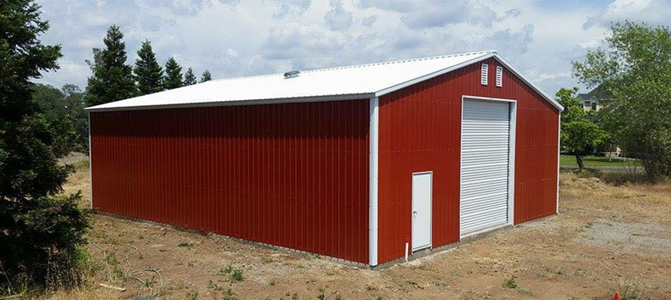 Steel buildings metal garages building kits prefab prices for Garage building cost