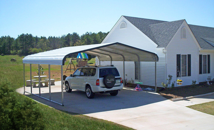 Portable Steel Carports Kits : Metal carports steel carport kits car ports portable