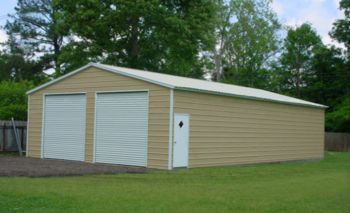 Commercial Steel Carports : Steel garage kit photo gallery carports and metal barns
