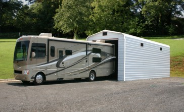 Steel buildings metal garages building kits prefab prices for Motorhome garage kits