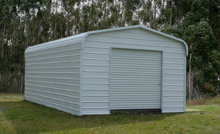 Single car garages by eversafe buildings for One car garage with carport