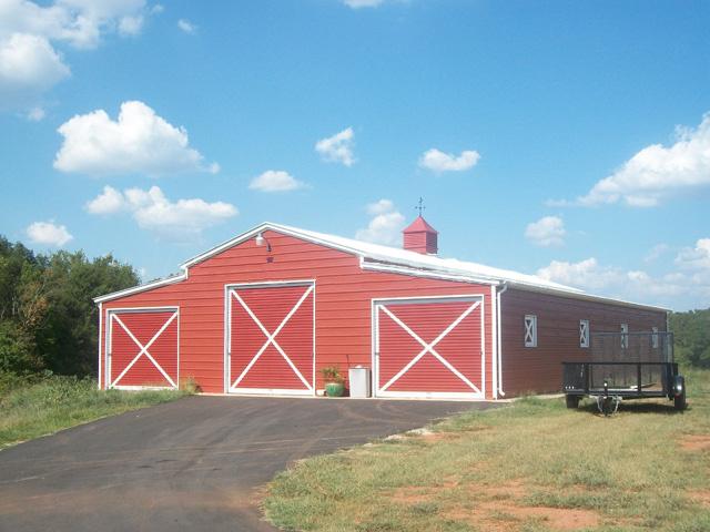 Steel barns metal farm buildings agricultural building kits for Farmhouse building kits