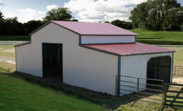Farm Sheds And Barns : Steel barns metal farm buildings agricultural building kits