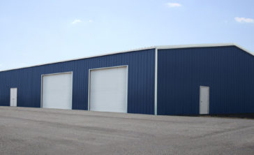 commercial steel building