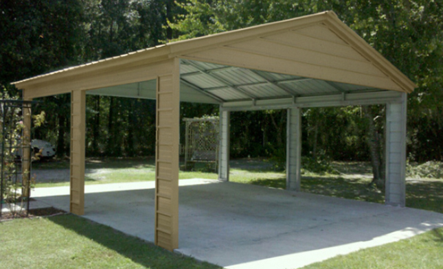 Portable Metal Carports Kits : Portable roof alpine design