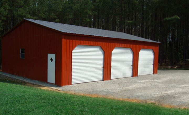 Prefab Steel Garages : Prefab steel garages metal buildings and garage