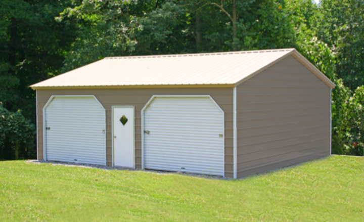 Prefab steel garages metal buildings and garage buildings 3 car metal garage kits