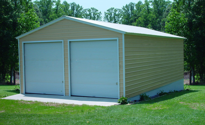 Prefab steel garages metal buildings and garage buildings for Modular garages prices