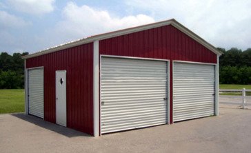 steel garage kits canada