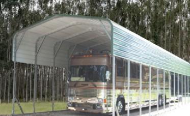 <p>RV Storage Building With Regular Roof</p>