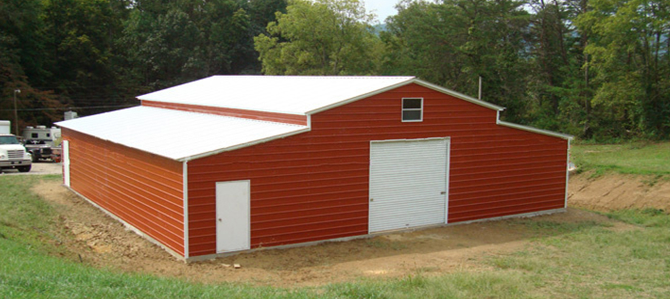 Steel buildings metal garages building kits prefab prices Garage building prices
