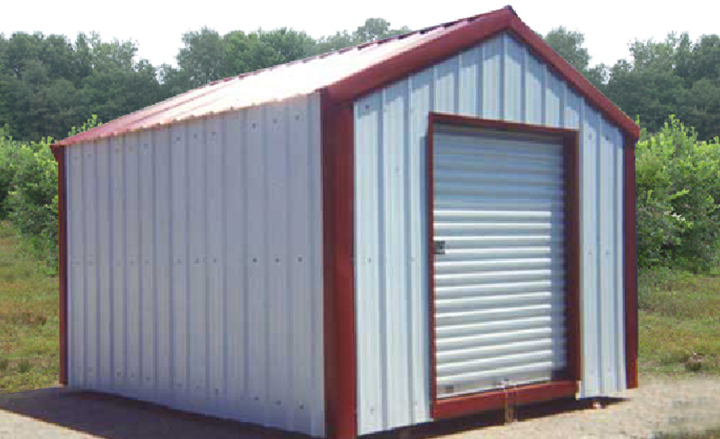 Small Steel Storage Buildings Metal Sheds Backyard