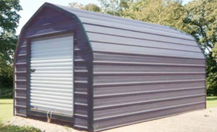Metal Storage Shed Kits : Small steel storage buildings metal sheds building kits