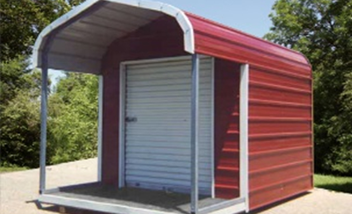Metal shed kit small steel storage for Small shed kits