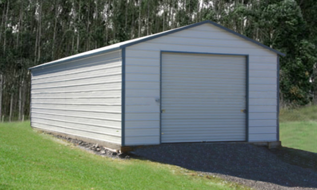 Orlando steel garage building kits metal buildings for Garage packages nova scotia