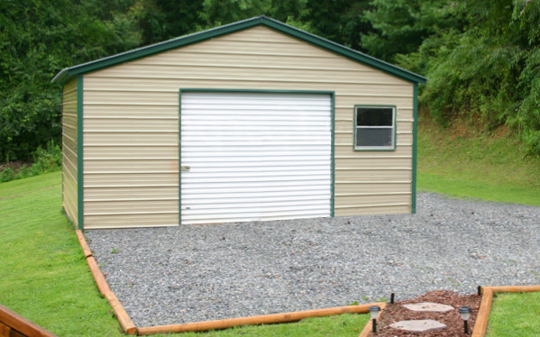 Sarasota metal garages steel buildings garage kits for Garage packages nova scotia