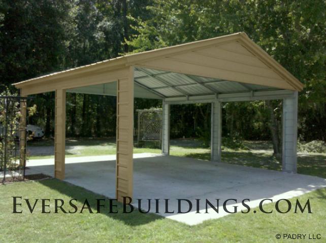 florida steel building pavilion