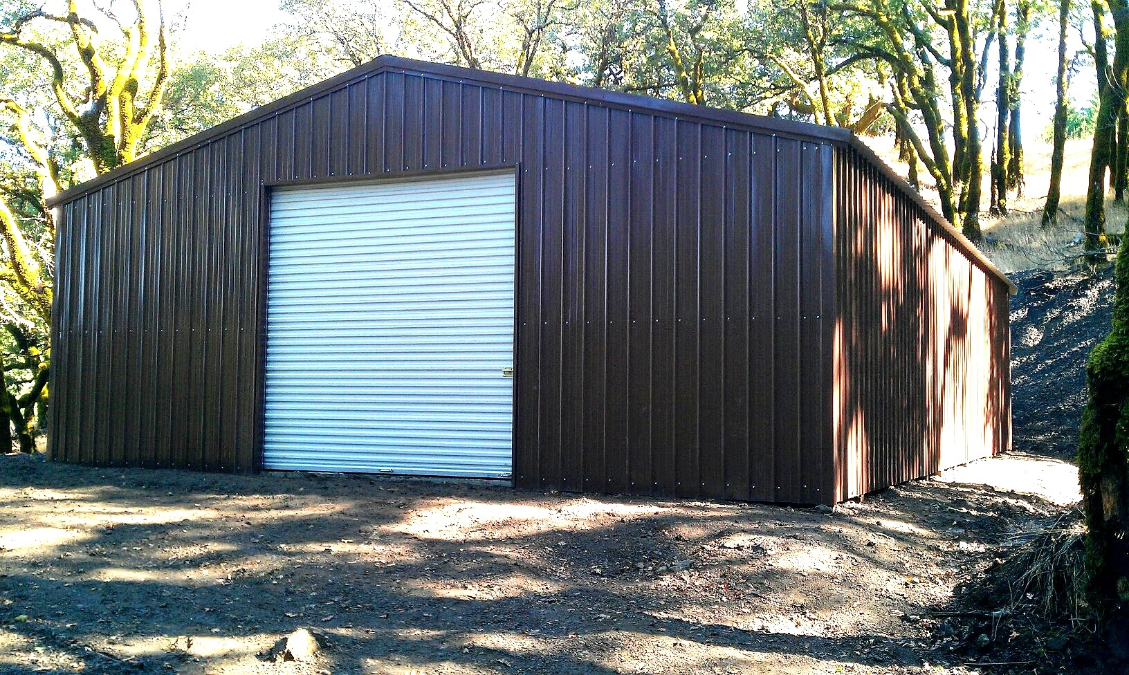 Commercial metal buildings auto repair garage workshop for Garages and workshops