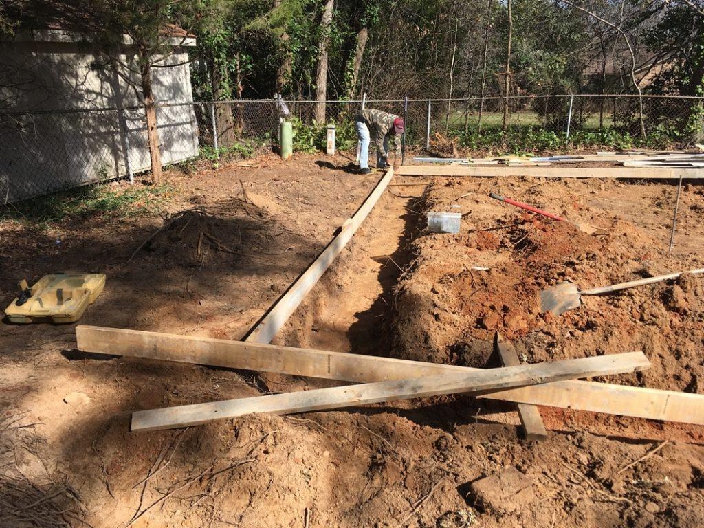 foundation design garage building kit