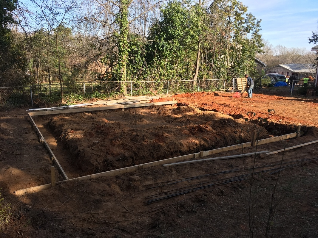 Steel Garage Building Kit Concrete Footing Slab South