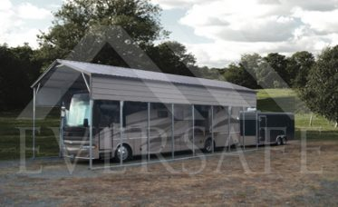 <p>RV Carport With Vertical Roof</p>