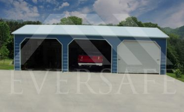 24x35 three car garage