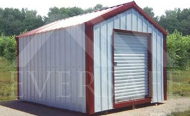 <p>Building Kit With Vertical Sheeting</p>