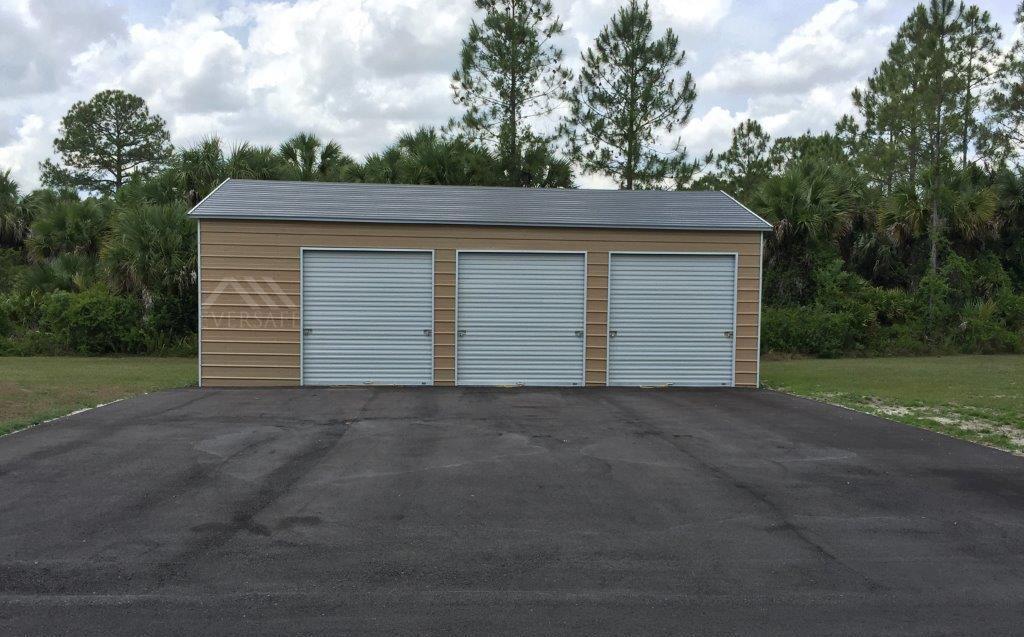 Residential Metal Garage