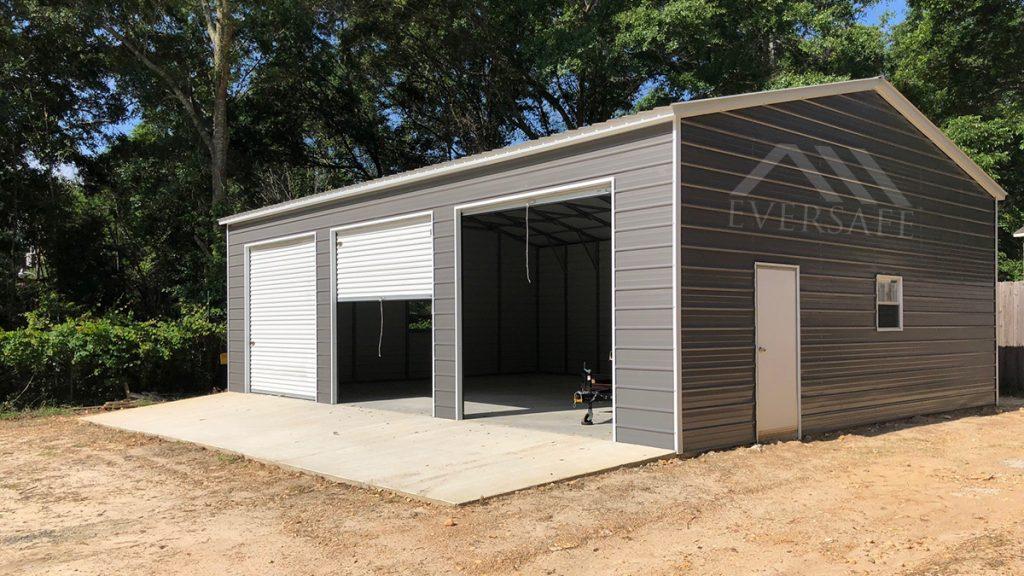 triple garage building kit