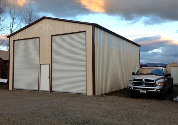 30x40x16 Steel Garage