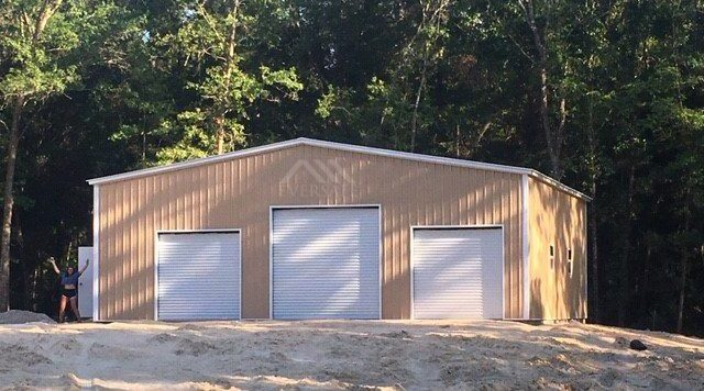 40x60 Metal building garage