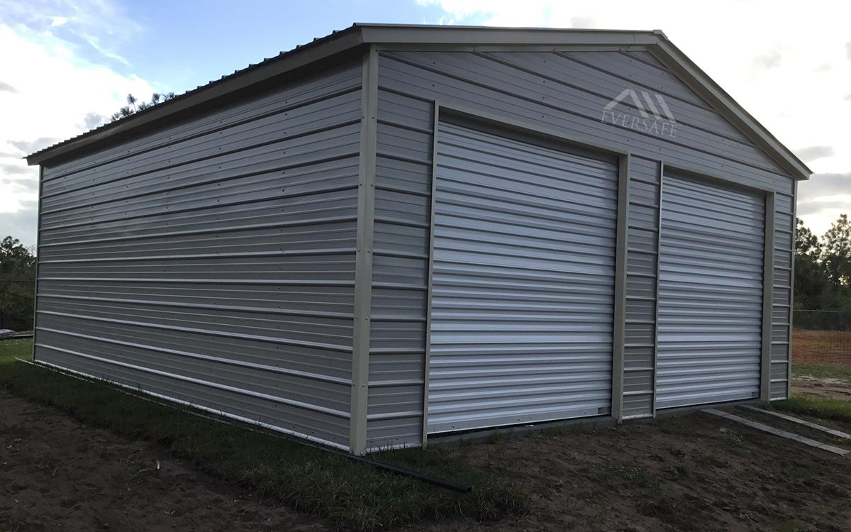 double garage building