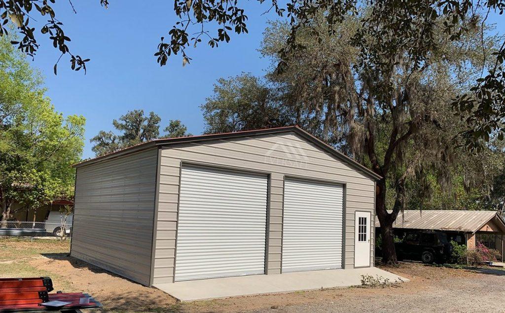 30x30 Steel Garage Building