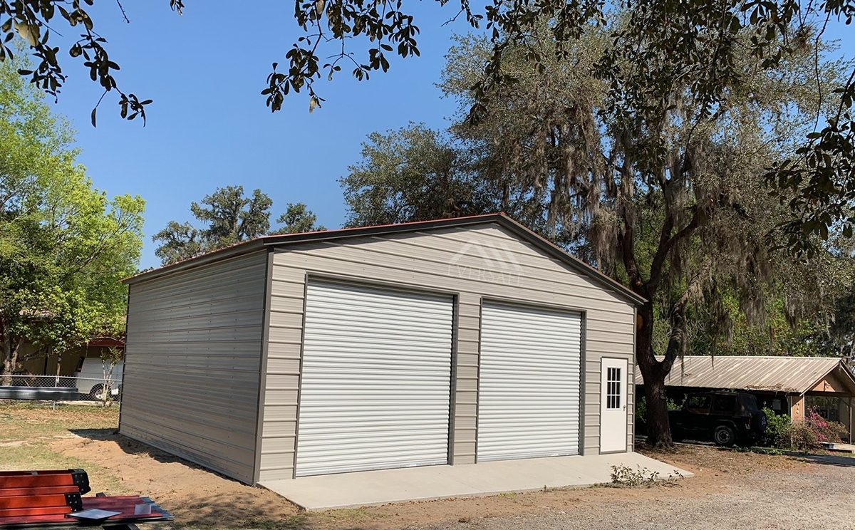 30x30 Steel Garage Building