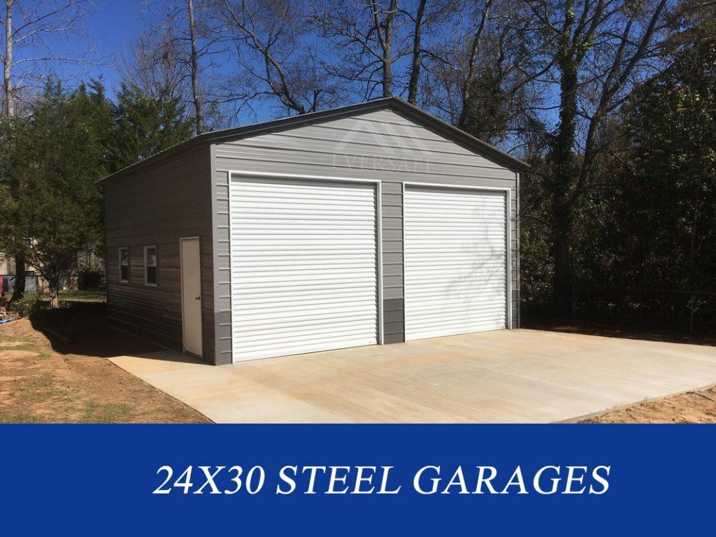 24x30 Steel Garages