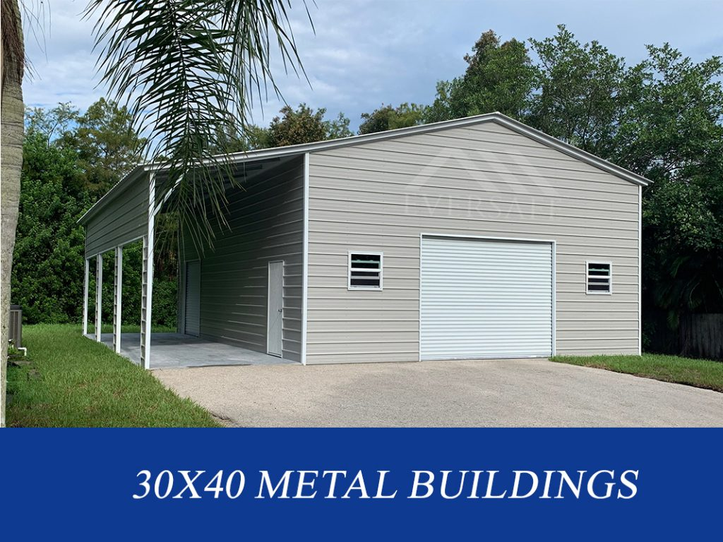 30x40 Metal Garage Buildings