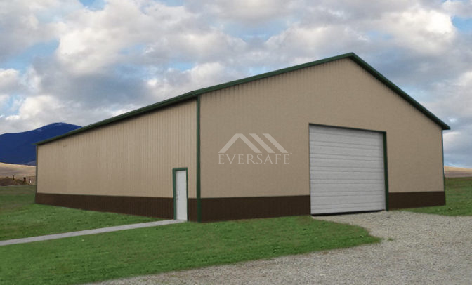 50x100 Metal Agricultural Building