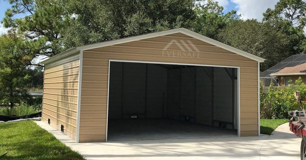 Double wide garage kit