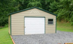 Garage Building with Window