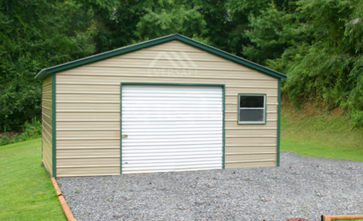 Garage Building with Window